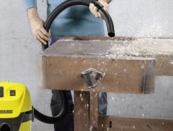 Aspirateur karcher eau et poussière sans sac